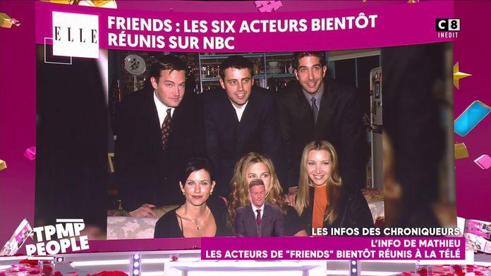 """Les acteurs de """"Friends"""" bientôt réunis à la télévision"""