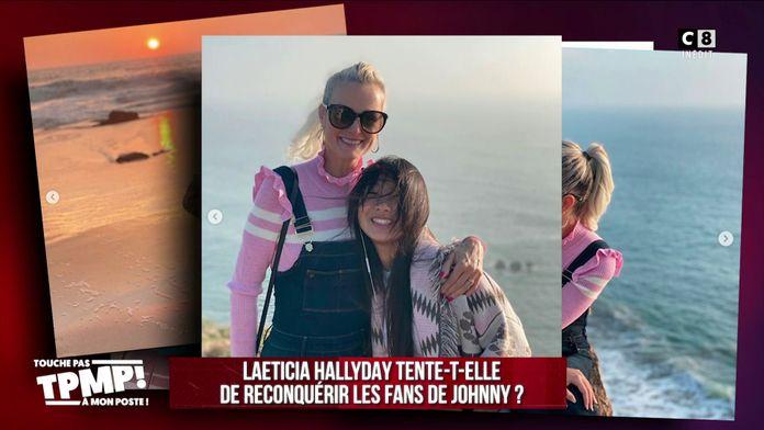 Laeticia Hallyday tente-t-elle de reconquérir les fans de Johnny ?