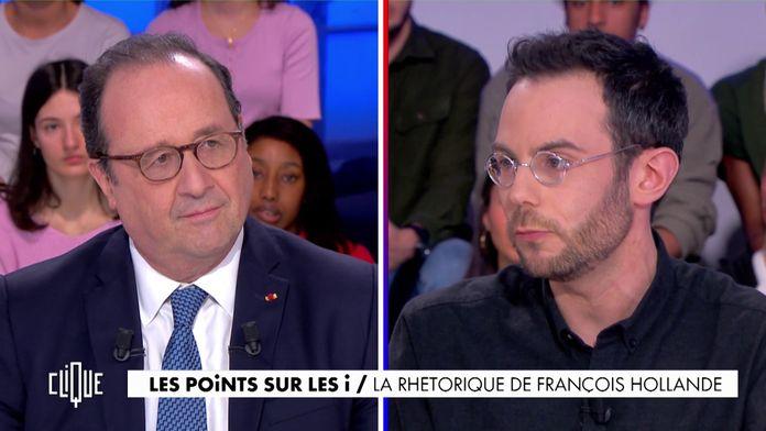 La rhétorique de François Hollande
