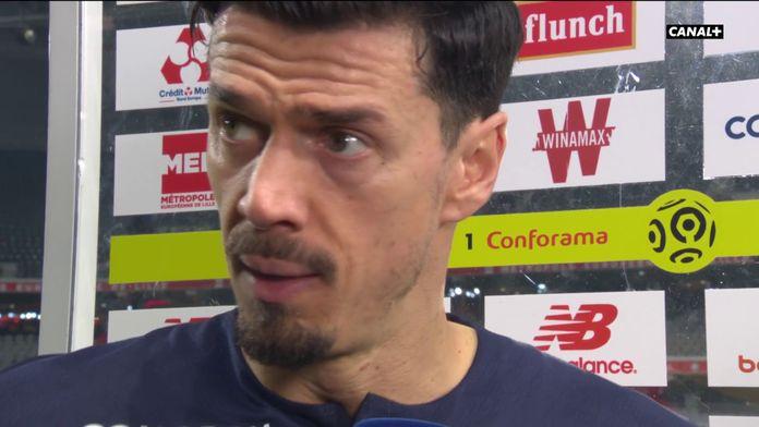 """José Fonte : """"On a donné deux buts"""" : Lille / Marseille"""