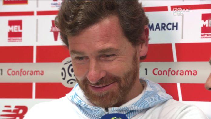 """Villas-Boas : """"Aké a beaucoup changé le match"""" : Lille / Marseille"""