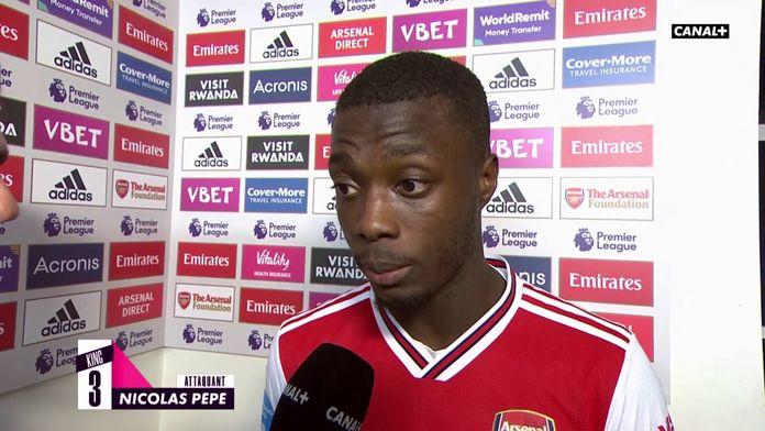 La réaction de Nicolas Pépé après Arsenal / Newcastle : King Of Ze Day