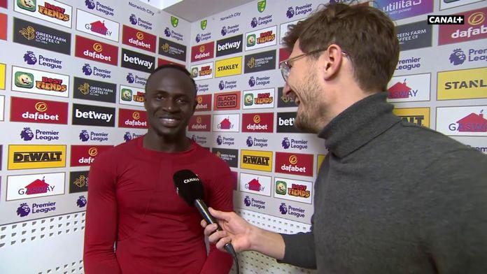 """Sadio Mané : """"J'ai été un petit peu chanceux sur mon but"""" : King Of Ze Day"""
