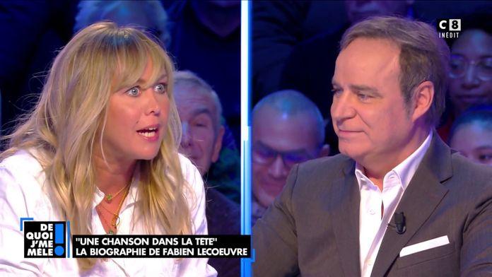 """Enora Malagré à Fabien Lecoeuvre: """"Vous écrivez un livre autobiographique pour exister à votre tour"""""""
