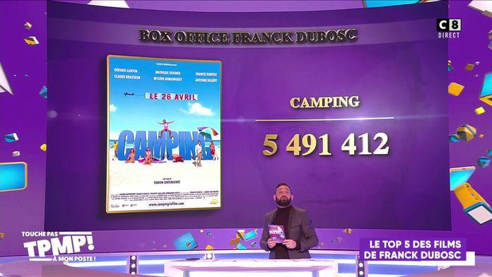 Le top 5 des films de Franck Dubosc !