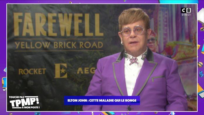 Elton John : Atteint d'une pneumonie, le chanteur a dû arrêter un concert précipitamment