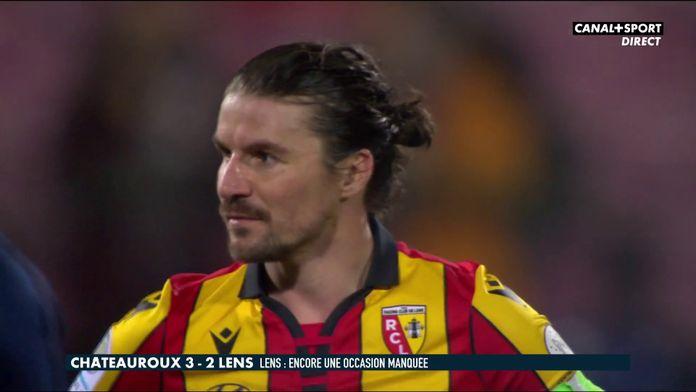 Le résumé de Châteauroux / Lens : Late Football Club