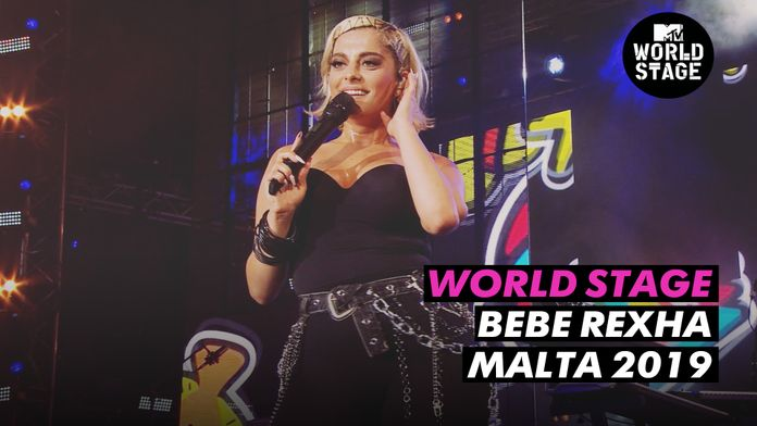 World Stage : Bebe Rexha Isle of MTV 2019
