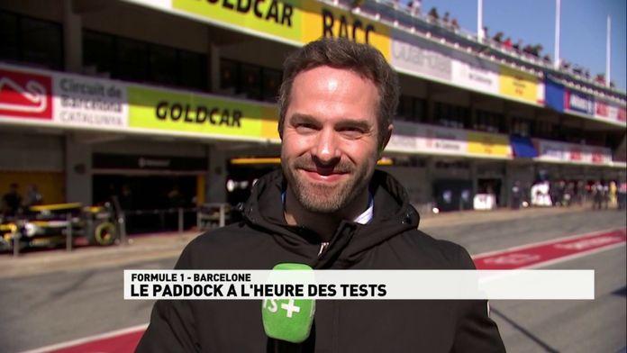 Le paddock à l'heure des tests ! : Le meilleur de la Formule 1, seulement sur Canal+