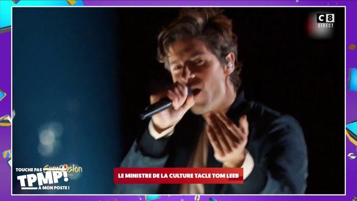 Tom Leeb qui représentera la France à l'Eurovision clashé par le Ministre de la culture !