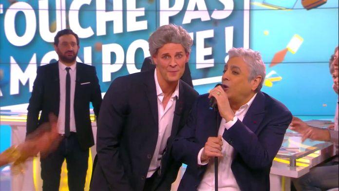 Matthieu Delormeau et Enrico Macias formaient un duo de choc