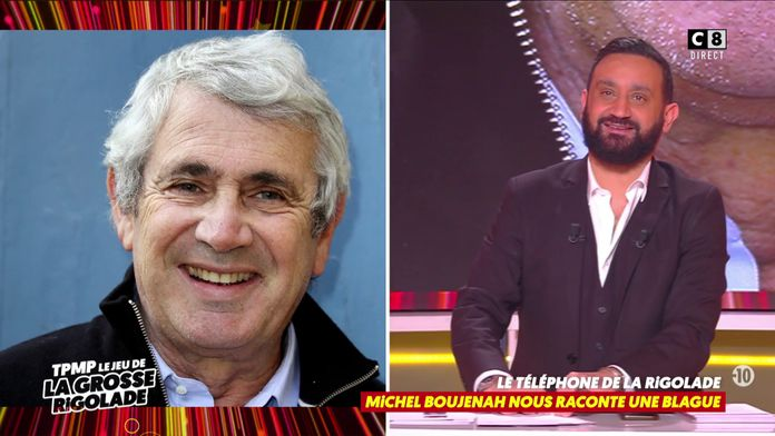Michel Boujenah raconte une blague darka en direct par téléphone !