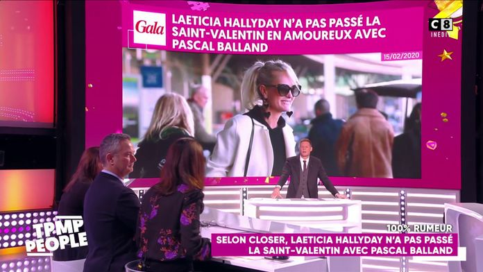 Laeticia Hallyday n'a pas passé la Saint-Valentin avec Pascal Balland