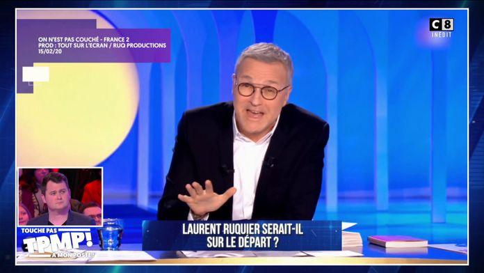 Laurent Ruquier serait-il sur le départ ?