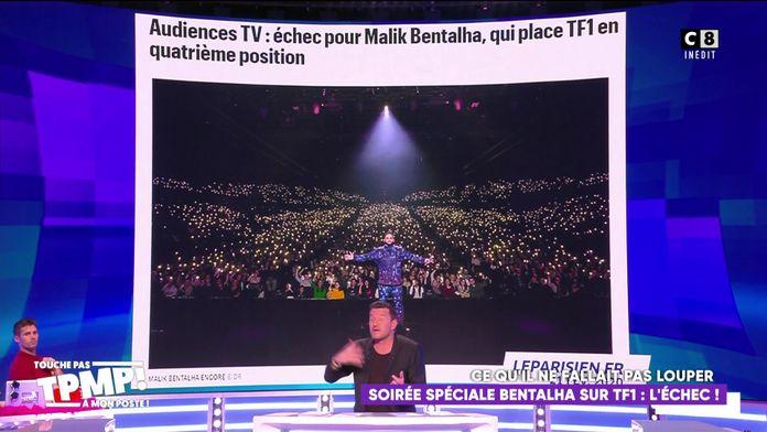 Soirée spéciale Malik Bentalha sur TF1 : L'échec d'audiences...