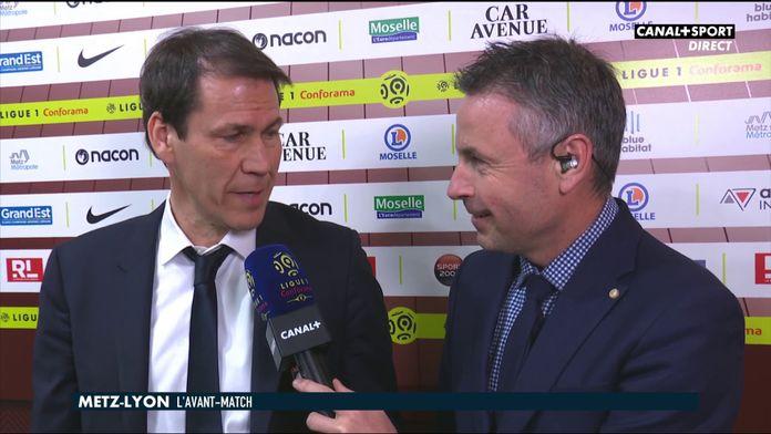 Les impressions de Rudi Garcia avant Metz / OL : Ligue 1 Conforama