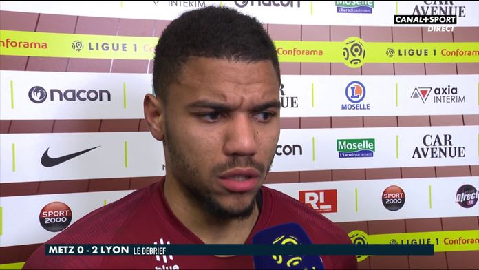 La réaction de Matthieu Udol après Metz / OL : Late Football Club