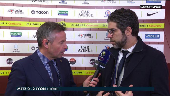 La réaction de Juninho après Metz / OL : Late Football Club