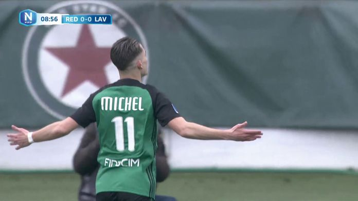 Diego Michel offre la victoire au Red Star - National : National