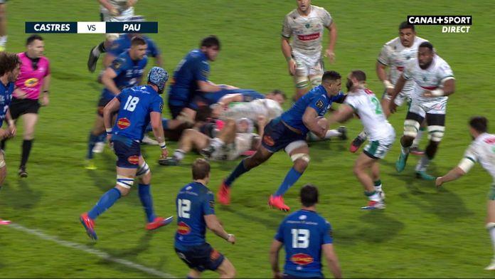 Le résumé Jour de Rugby de Castres / Pau : TOP 14