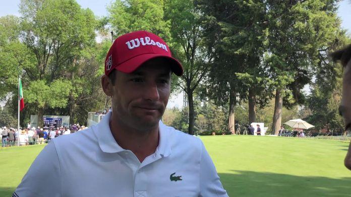La réaction de Benjamin Hébert après sa superbe journée : WGC - Mexico Championship