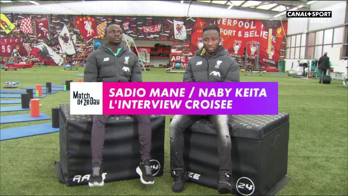 Sadio Mané / Naby Keïta - L'interview croisée : Premier League - Liverpool