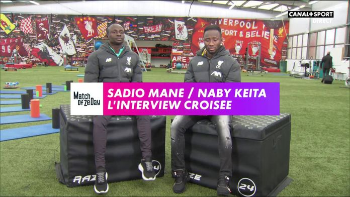 Sadio Mané / Naby Keita : L'interview croisée : Match Of Ze Day