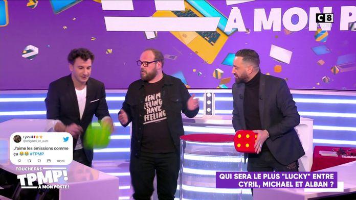 Qui sera le plus chanceux entre Cyril Hanouna, Michaël Youn et Alban Ivanov ?