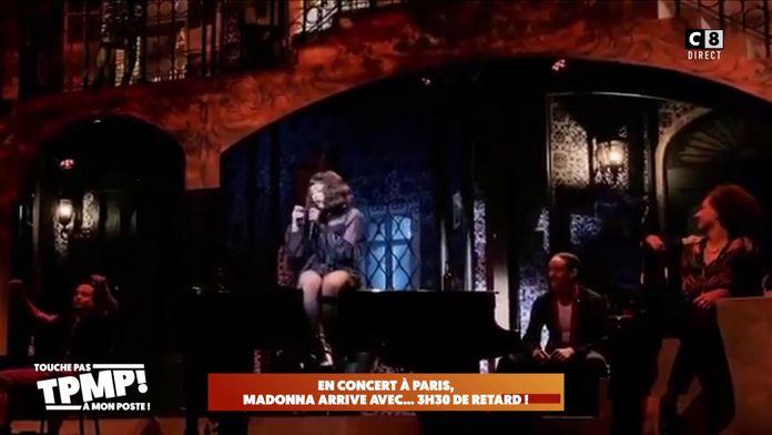Madonna en retard de 3h30 à son propre concert au Grand Rex à Paris !