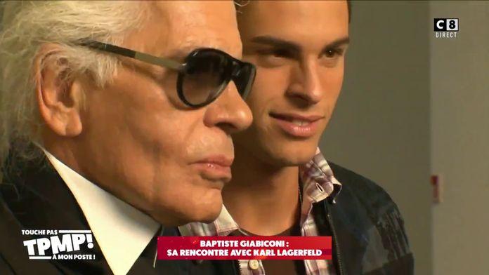 Héritage de Karl Lagerfeld : Baptiste Giabiconi serait le principal héritier du créateur