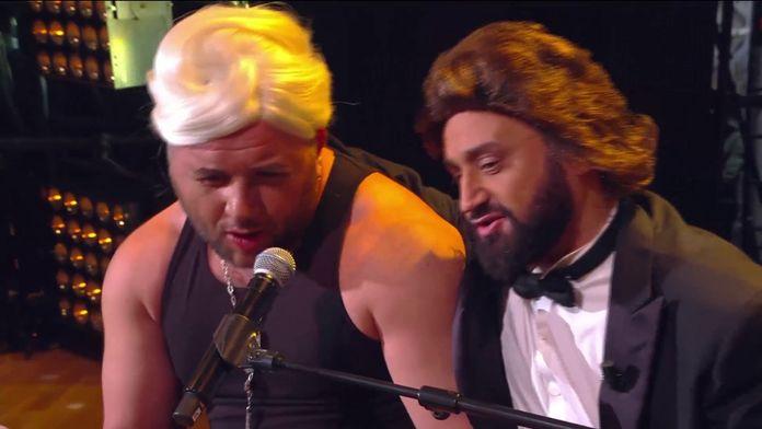 "Cyril Hanouna et Mokhtar parodient Lady Gaga et Bradley Cooper sur ""Shallow"""