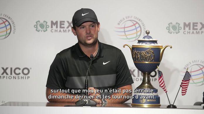 """Reed : """"Je n'écoute pas les bruits autour de moi"""" : WGC - Mexico Championship"""
