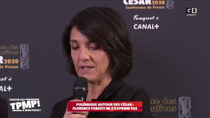 Polémique autour des César : Florence Foresti décide de ne pas s'exprimer