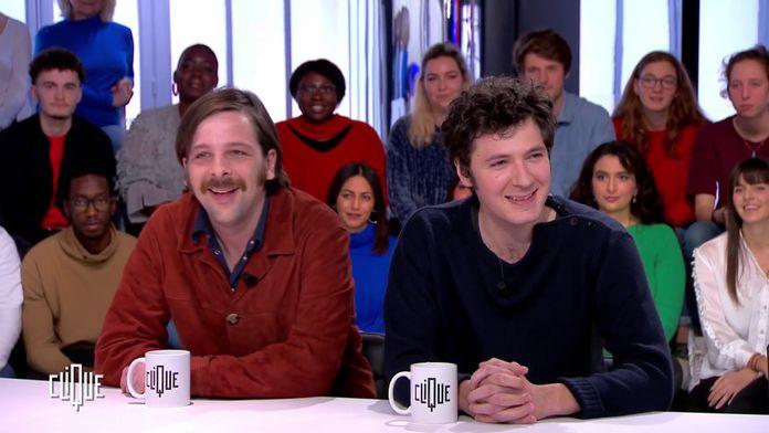 Vincent Lacoste et Antoine De Bary