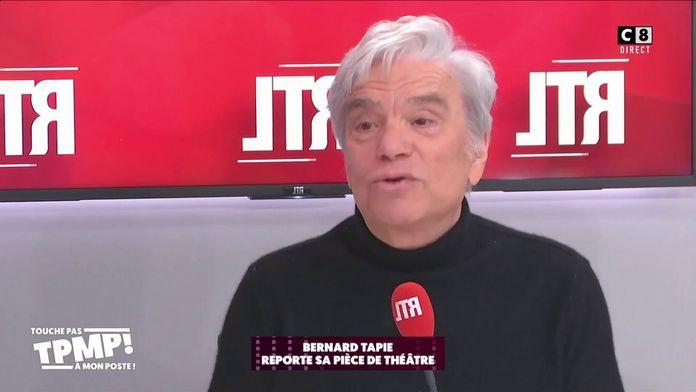 Bernard Tapie reporte sa pièce de théâtre à cause de son état de santé