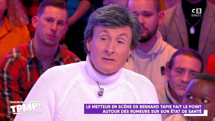 """Philippe Hersen, metteur en scène de Bernard Tapie revient sur sa santé : """"Il est très fatigué"""""""
