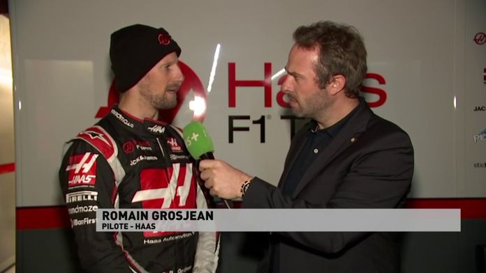 """Grosjean : """"On a un gros programme de tests"""" : Le meilleur de la Formule 1, seulement sur Canal+"""