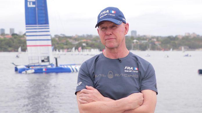 """Dubois : """"Le circuit SailGP c'est une ligue professionnelle"""" : SailGP 2020"""