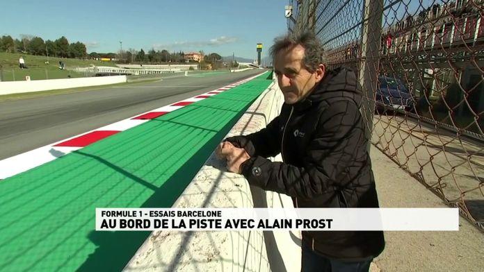 Essais Hivernaux - Au bord de la piste avec Alain Prost : Le meilleur de la Formule 1, seulement sur Canal+