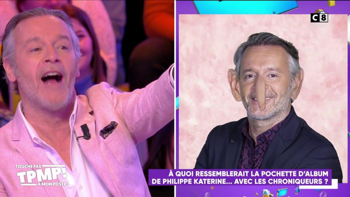 A quoi ressemblerait la pochette d'album de Philippe Katerine avec les chroniqueurs ?