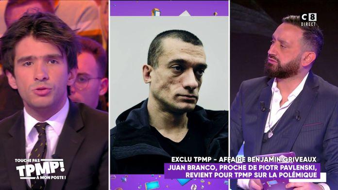 Juan Branco, complice de Piotr Pavlenski ? Il répond aux accusations
