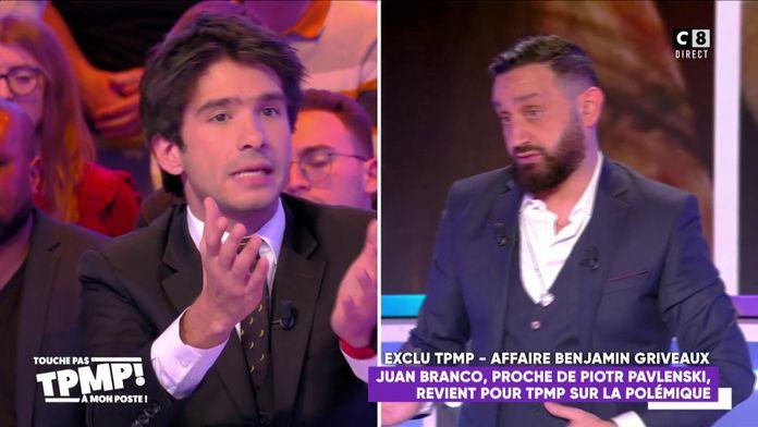 """Juan Branco à Cyril Hanouna : """"Votre émission est pornographique !"""""""