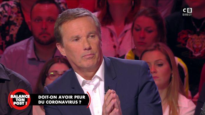 """Nicolas Dupont-Aignan à propos du coronavirus : """"Le rôle d'un gouvernement c'est d'anticiper"""""""