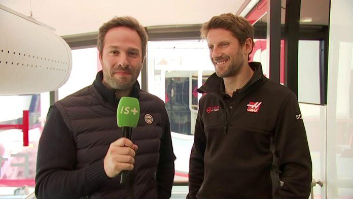 """Romain Grosjean : """"On a bien travaillé"""" : Le meilleur de la Formule 1, seulement sur Canal+"""
