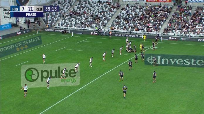 Super Rugby - L'essai d'Andrew Kellaway avec les Rebels : Super Rugby - Highlanders/Rebels