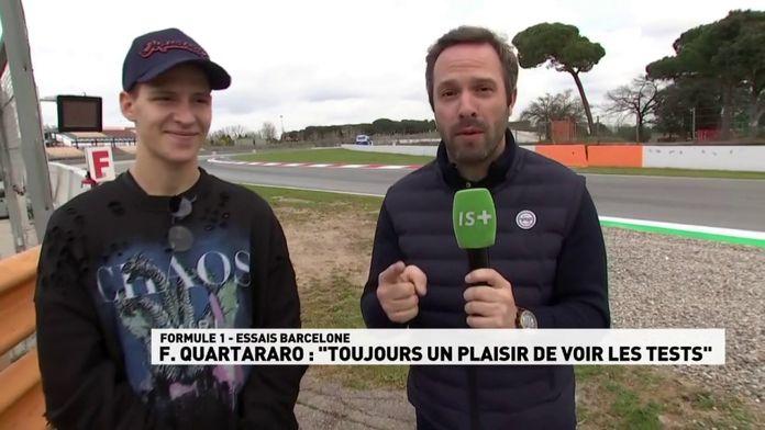 """F.Quartararo : """"Toujours un plaisir de voir les tests"""" : MotoGP"""