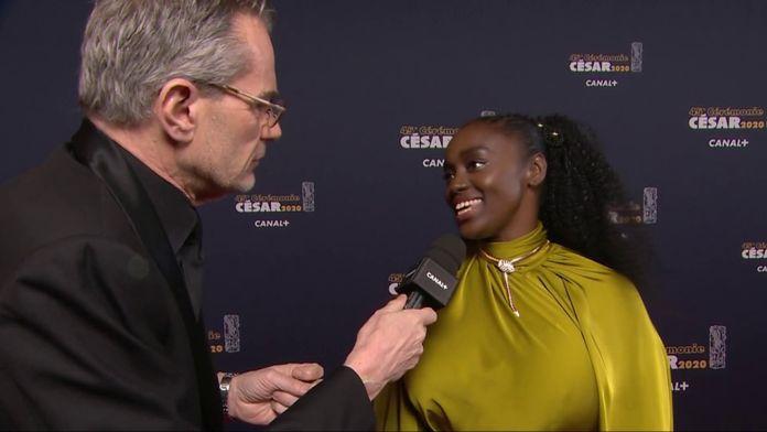 Aïssa Maiga, présidente des collectifs 50/50 et Noire n'est pas mon métier - César 2020