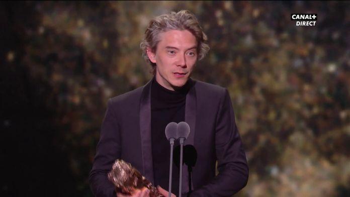 Swann Arlaud reçoit le César du meilleur acteur dans un second rôle - César 2020