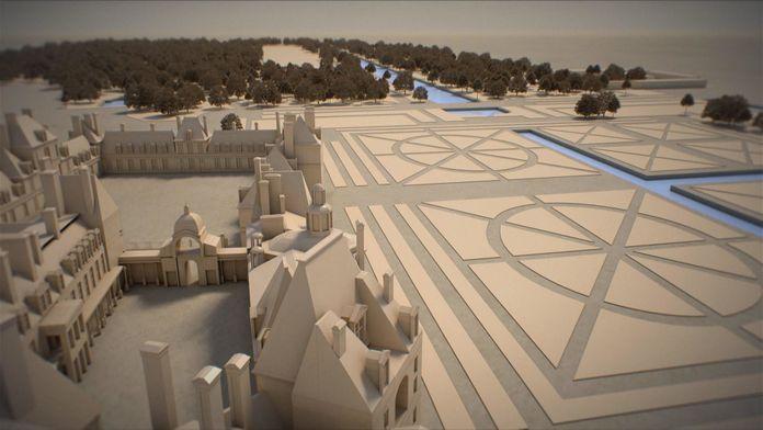 Fontainebleau, une mégastructure royale