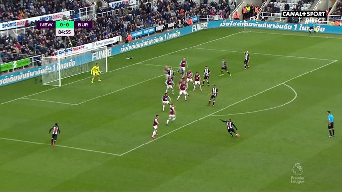 Le résumé de Newcastle / Burnley : Premier League